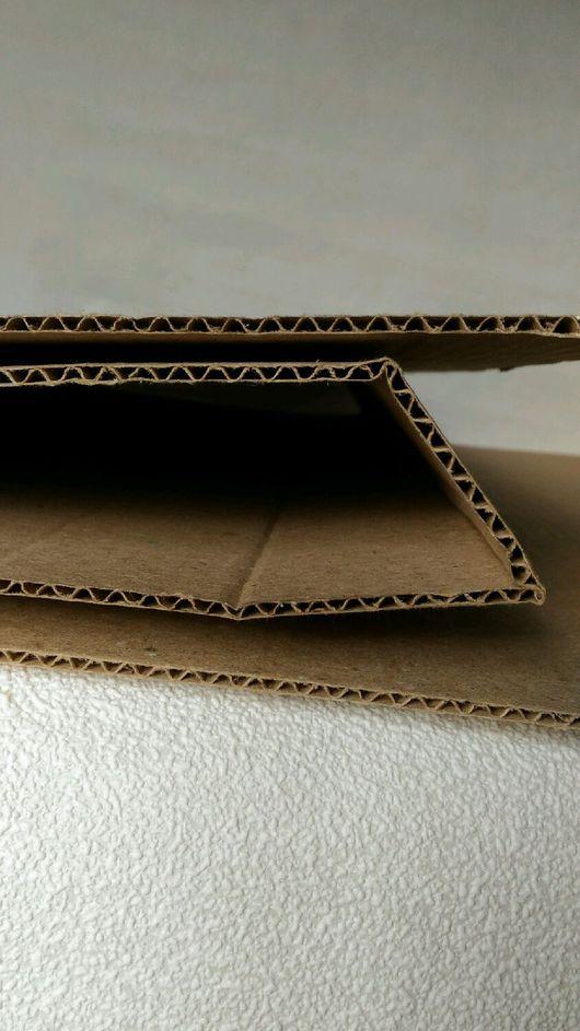 Упаковка ручной работы. Ярмарка Мастеров - ручная работа. Купить Гофрокартон 1 слойный листовой. Handmade. Картон, бумага для скрапбукинга