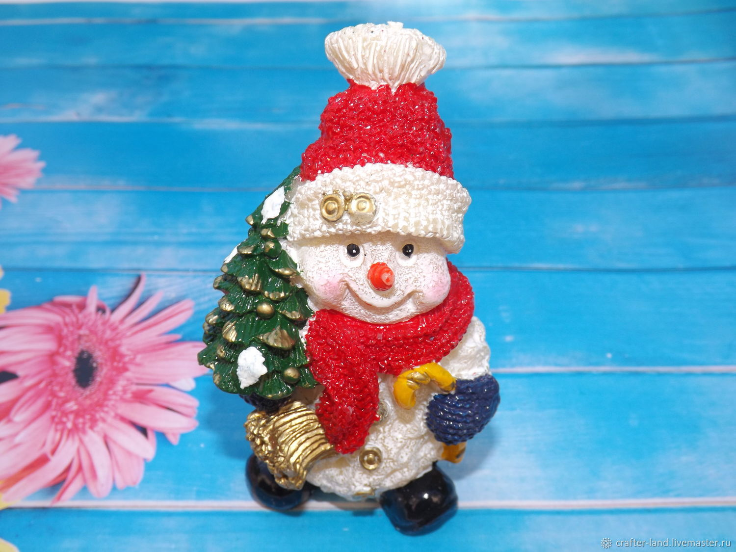 Silicone mold 'Snowman and Christmas tree', Form, Moscow,  Фото №1