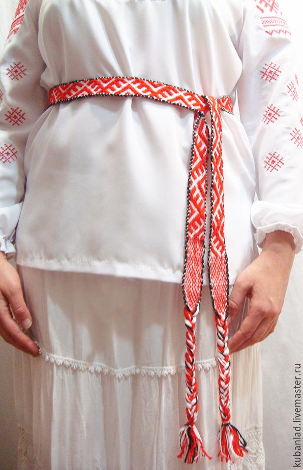 russian belt 'agrimony', Belts and ribbons, Starominskaya,  Фото №1
