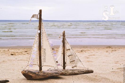 Персональные подарки ручной работы. Ярмарка Мастеров - ручная работа. Купить кораблики. Handmade. Коричневый, парусники, подарок на любой случай