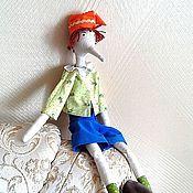 Куклы и игрушки handmade. Livemaster - original item Doll-Pinocchio. Handmade.