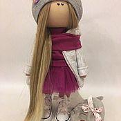 Куклы и пупсы ручной работы. Ярмарка Мастеров - ручная работа Кукла со свинкой. Handmade.