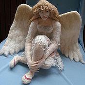 """Куклы и игрушки ручной работы. Ярмарка Мастеров - ручная работа Кукла """"Задумчивый ангел"""". Handmade."""