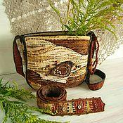Сумки и аксессуары handmade. Livemaster - original item Astrid hand weaving bag. Handmade.