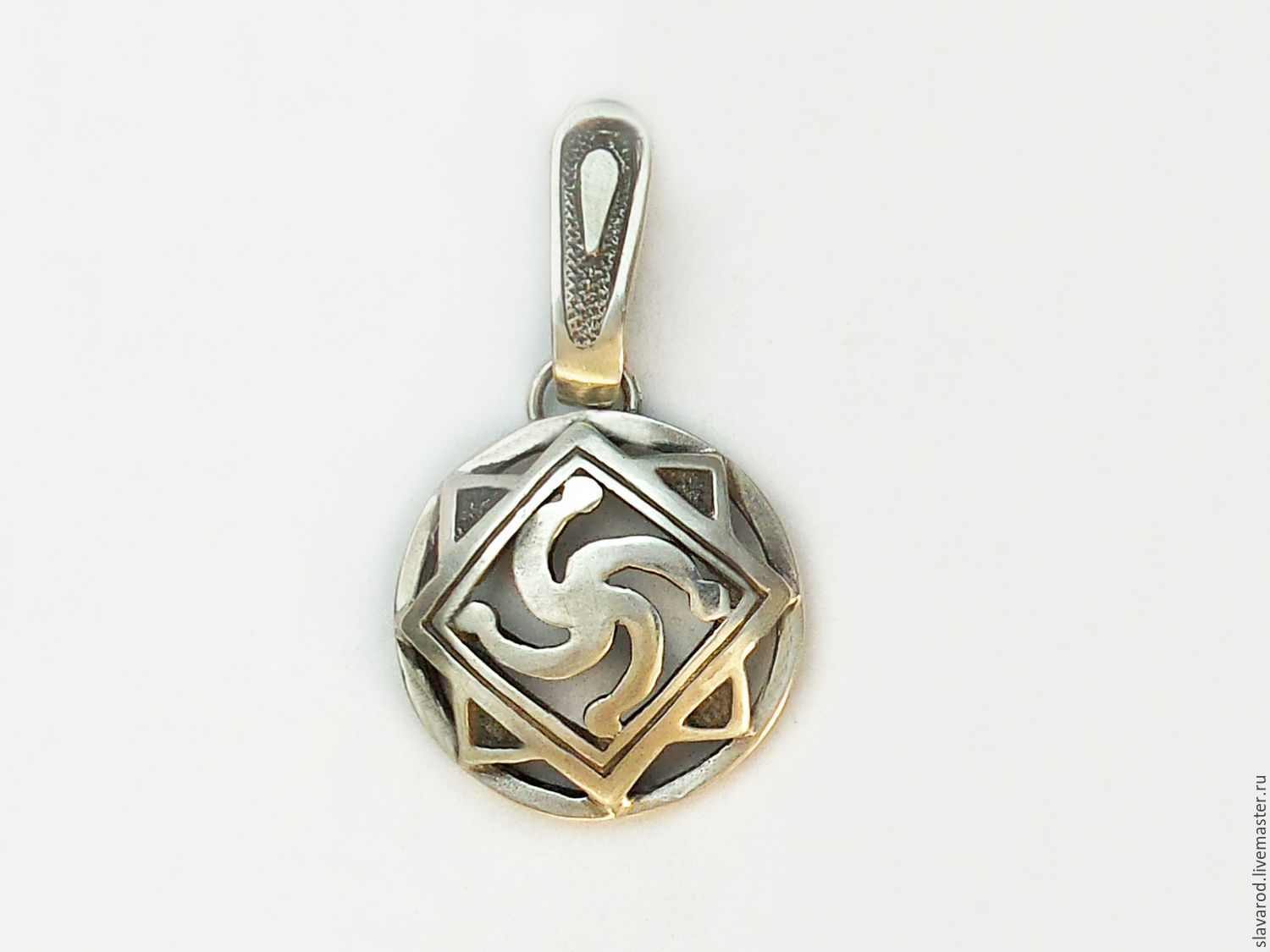 A powerful amulet from the dark forces.  Working on recovering ancestral memory and rasshirenie consciousness.