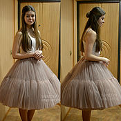 Одежда handmade. Livemaster - original item Skirt of tulle for American adults. Handmade.