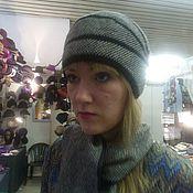 """Аксессуары ручной работы. Ярмарка Мастеров - ручная работа авторская шляпка  комплект """"минингитка"""". Handmade."""