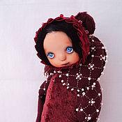 """Куклы и игрушки ручной работы. Ярмарка Мастеров - ручная работа Тедди-долл""""Вишенка ll""""!. Handmade."""