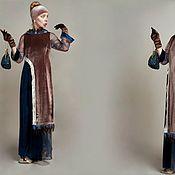 Одежда ручной работы. Ярмарка Мастеров - ручная работа Платье в стиле Ар-нуво. Handmade.