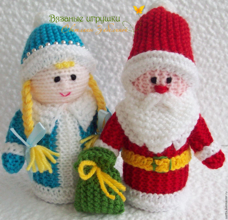 Вязание крючок новогодние игрушки