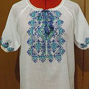Одежда handmade. Livemaster - original item Women`s embroidery ЖР3-62. Handmade.