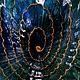 """Тарелки ручной работы. Сервировочная тарелка """"Волшебная Ракушка"""". Magdalina Магдалина (magdalinasolo). Интернет-магазин Ярмарка Мастеров. Стекло, стекло"""