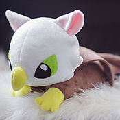 Куклы и игрушки handmade. Livemaster - original item Toy Gryphon in the style of kawaii. Handmade.