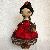 Куклы и игрушки ручной работы. Ярмарка Мастеров - ручная работа Маленькая Кармен. Handmade.