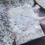 Блокноты ручной работы. Ярмарка Мастеров - ручная работа Дневник беременности. Handmade.