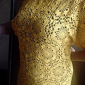 Платья ручной работы. Ярмарка Мастеров - ручная работа Платье летнее крючком. Handmade.
