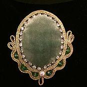 Украшения handmade. Livemaster - original item ANGELICA brooch. Handmade.