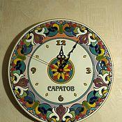 Для дома и интерьера handmade. Livemaster - original item ceramic watches with your logo.. Handmade.