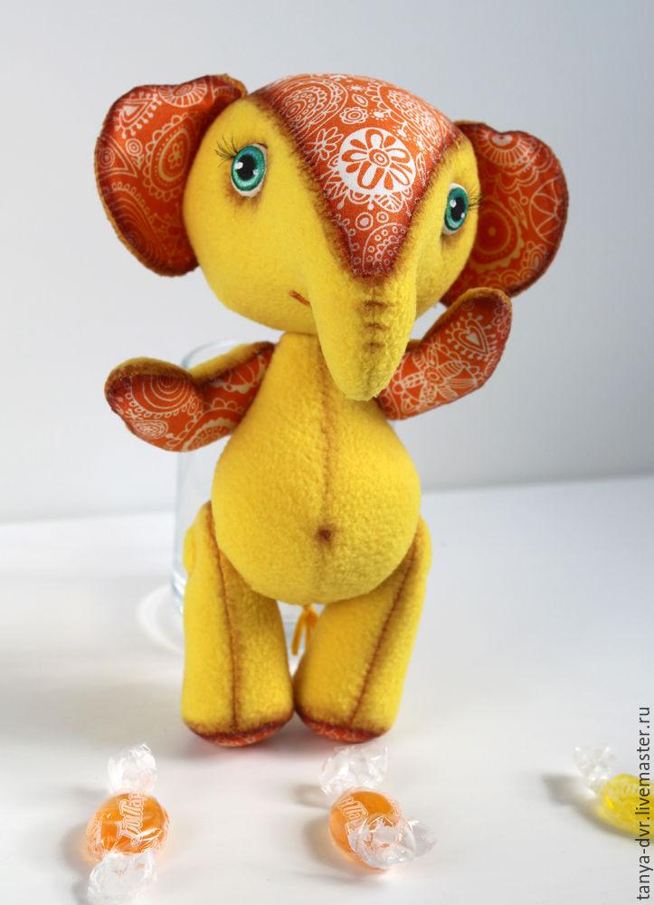 Солнечный слон, Мягкие игрушки, Зеленоград,  Фото №1