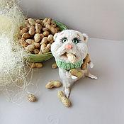 Куклы и игрушки handmade. Livemaster - original item Knitted toy Hamster Glutton. Handmade.