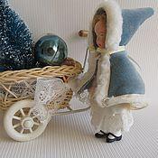 Куклы и игрушки ручной работы. Ярмарка Мастеров - ручная работа Мари, миниатюрная куколка в стиле ретро.. Handmade.