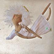 """Куклы и игрушки ручной работы. Ярмарка Мастеров - ручная работа """"Ангел уютный"""" - авторская кофейная куколка. Handmade."""