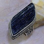 Украшения ручной работы. Ярмарка Мастеров - ручная работа Кольцо с черным турмалином шерлом. Handmade.