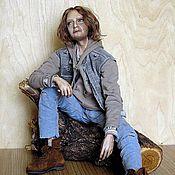 Куклы и игрушки ручной работы. Ярмарка Мастеров - ручная работа Бродяга (Хобо) Авторская коллекционная кукла. Handmade.