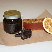 Косметика ручной работы handmade. Livemaster - original item A Duo of orange and chocolate. Handmade.