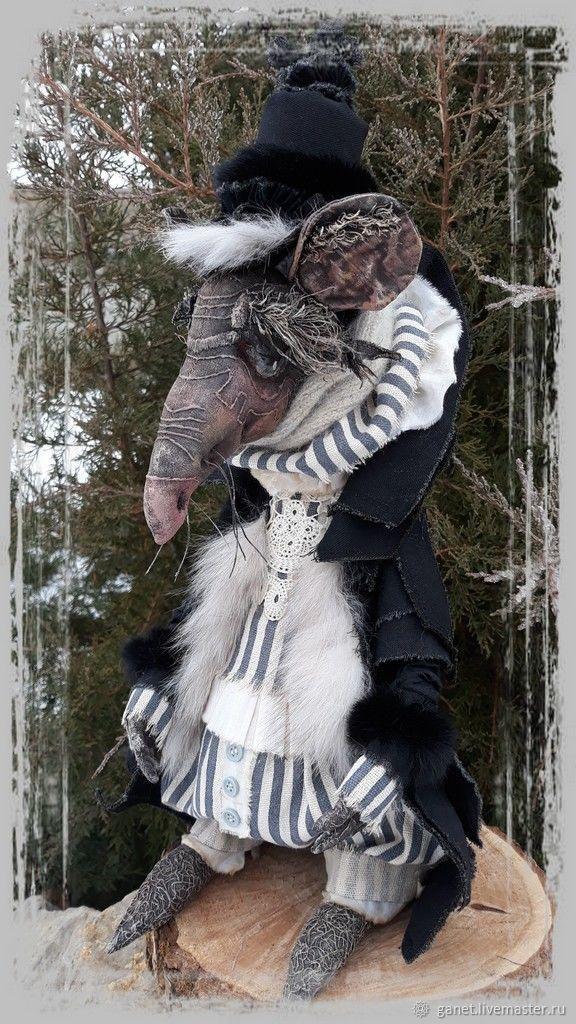 Крыс Шушер, Портретная кукла, Боковская,  Фото №1