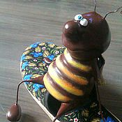 Куклы и игрушки ручной работы. Ярмарка Мастеров - ручная работа Таракан после тапка. Handmade.