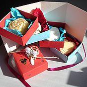 Косметика ручной работы. Ярмарка Мастеров - ручная работа Подарочный набор мыла ручной работы. Handmade.