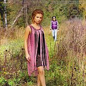 """Одежда ручной работы. Ярмарка Мастеров - ручная работа Платье """"розовый дождь"""". Handmade."""