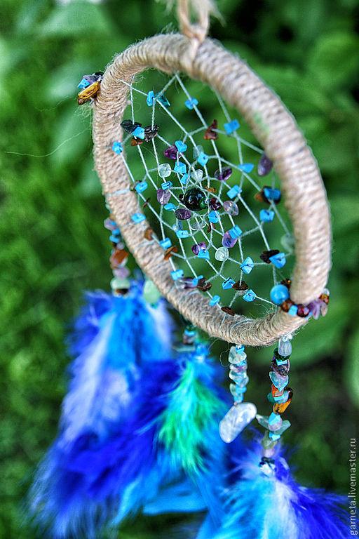 """Ловцы снов ручной работы. Ярмарка Мастеров - ручная работа. Купить Ловец снов """"Тропический сон"""". Handmade. Оазис, шаман"""