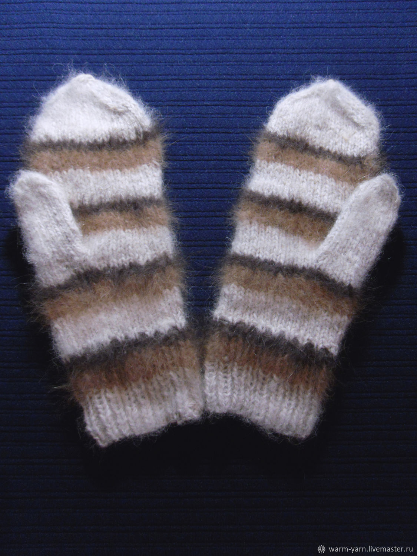 Women's knitted mittens, Mittens, Klin,  Фото №1