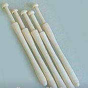 Инструменты для кружевоплетения ручной работы. Ярмарка Мастеров - ручная работа Коклюшки для плетения кружева. Handmade.