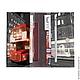Кошельки и визитницы ручной работы. Портмоне Лондонский автобус, Тревел, Travel. Mahaon. Интернет-магазин Ярмарка Мастеров. Портмоне из кожи