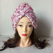 Аксессуары handmade. Livemaster - original item Pink turban