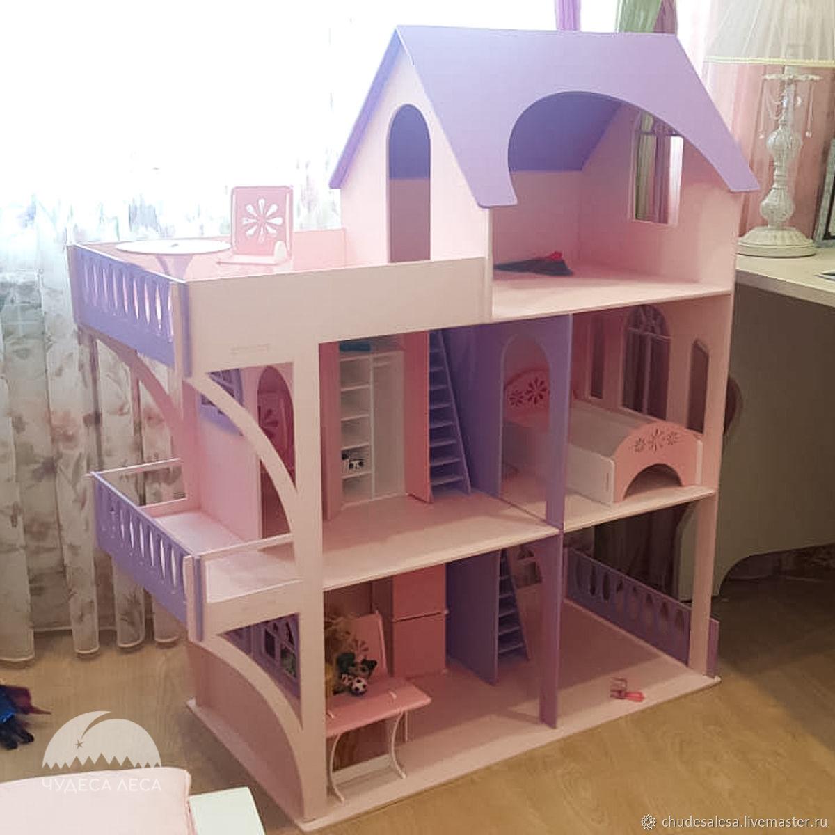 Деревянный кукольный домик (без мебели), Кукольные домики, Липецк,  Фото №1
