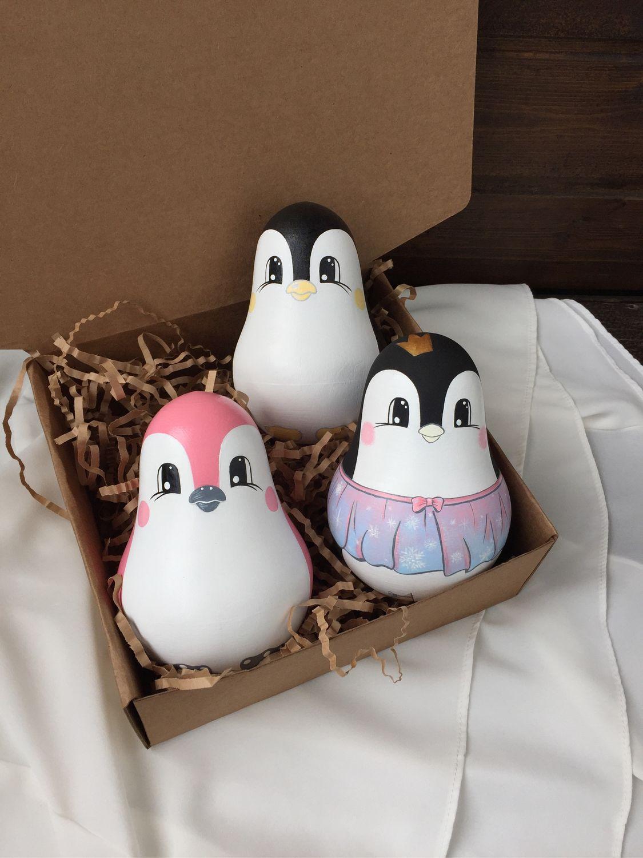 Неваляшка Пингвин, Развивающие игрушки, Рязань, Фото №1
