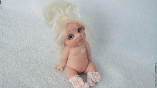 Коллекционные куклы ручной работы. Ярмарка Мастеров - ручная работа. Купить .... Пухлая ушастая эльфиечка....................... Handmade. Бежевый, реалистичная кукла