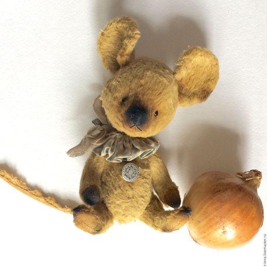 Мишки Тедди ручной работы. Ярмарка Мастеров - ручная работа. Купить Мышонок Репка. Handmade. Бежевый, мышонок, стружка древесная