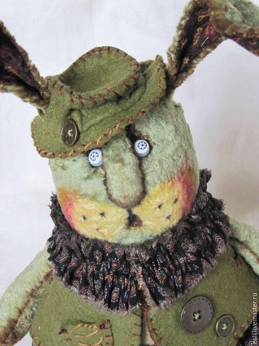 Мишки Тедди ручной работы. Ярмарка Мастеров - ручная работа. Купить Морковку принесли?. Handmade. Болотный, толстый кролик, фетр