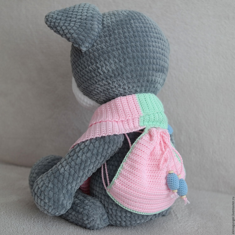 Елена гюнгер вязанные игрушки мк