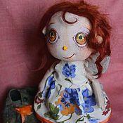 """Куклы и игрушки ручной работы. Ярмарка Мастеров - ручная работа """"Паулина"""".Текстильная кукла.. Handmade."""