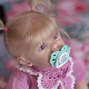 Куклы и игрушки ручной работы. Ярмарка Мастеров - ручная работа Малышка с молда Элла от Каролы Вегерич. Handmade.