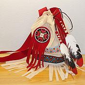 Одежда ручной работы. Ярмарка Мастеров - ручная работа Сумка индейская. Handmade.