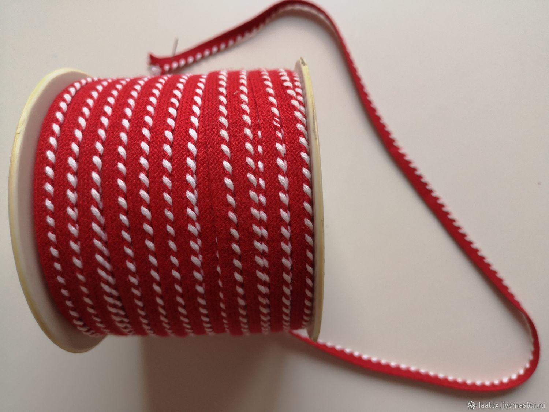 Кант отделочный хлопковый 0,7 см, Отделка для шитья, Москва,  Фото №1
