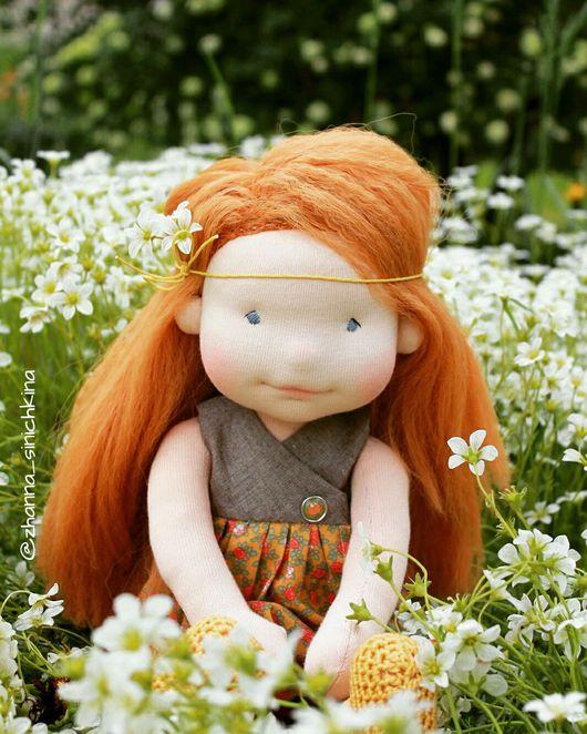 Вальдорфская игрушка ручной работы. Ярмарка Мастеров - ручная работа. Купить Кукла вальдорфская ВАРЯ. Handmade. Кукла, игровая кукла