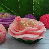 Мыло ручной работы. Ярмарка Мастеров - ручная работа Малышка в розе. Handmade.